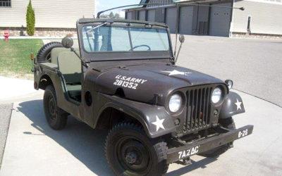 1952 Olive Green M38Al Jeep