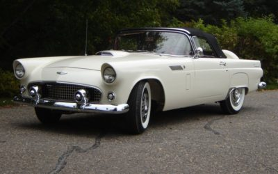 1956 White T-Bird