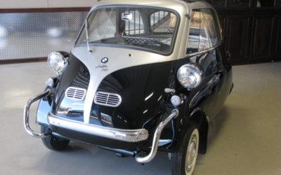 1959 Black-Silver BMW Isetta