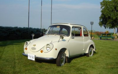 1970 White Subaru 360