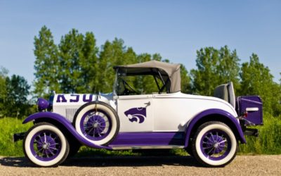 1980 Purple-White Ford-Shay Model A Replica