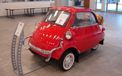 1957 Red BMW Isetta