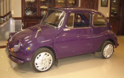 1970 Purple Subaru 360
