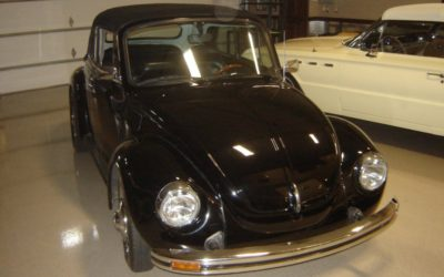 1979 Black VW Convertible