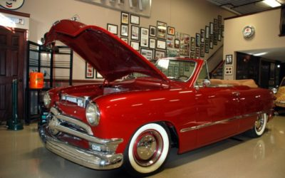 1950 Red Ford
