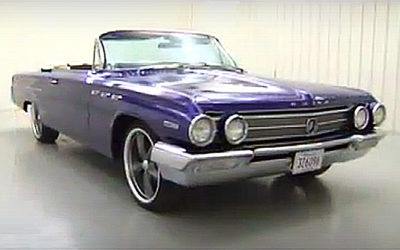 1962 Purple Buick Invicta