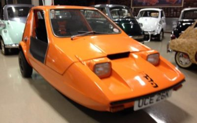 1972 Orange Reliant Bond Bug